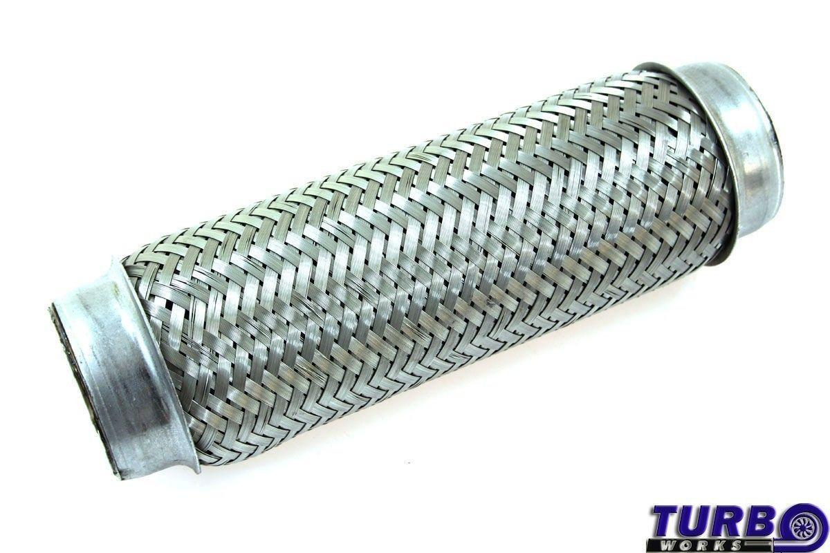 Kipufogó Flexibilis cső 2,5x10'' rozsdamentes